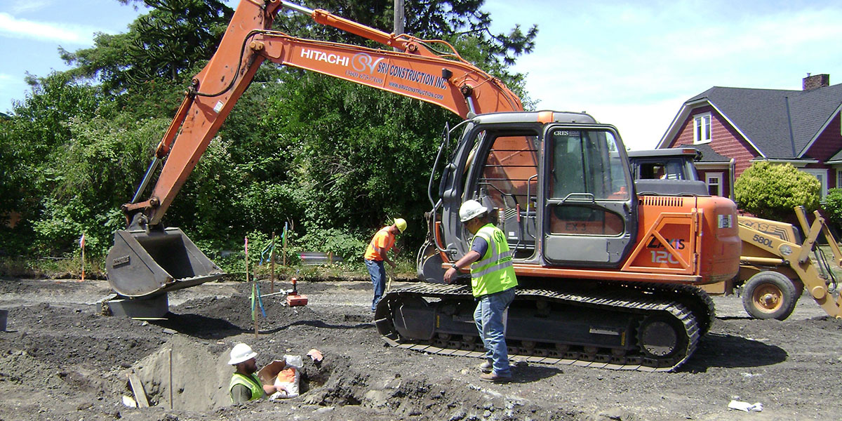 SRV Construction ~ Earthwork, Roads, Utilities, Lift and